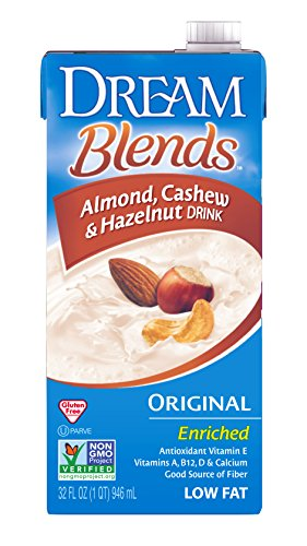 Dream Blends Enriched Original Almond Cashew and Hazelnut Non-Dairy Drink, 32 fl. oz. (Pack of 6)