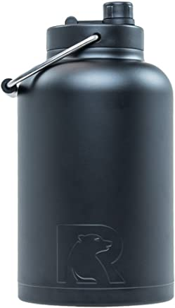 RTIC One Gallon Vacuum Insulated Jug, Black