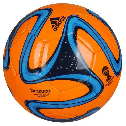 adidas Mundial de Fútbol Brazuca Glider réplica de balón de fútbol (5) (Naranja)