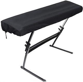 Funda/Cubierta para Piano - Cubierta Protectora a Prueba de Polvo para 88 Teclas Teclado para Piano Electrónico con Cable para Piano Digital Yamaha Casio Roland Consolas (88 Teclado)