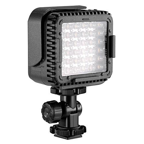 Neewer Ultrahelle Mini LED Videoleuchte 36 dimmbare Hochleistungs LED Videoleuchte für DJI Ronin-S OSMO Mobile 2 Zhiyun WEEBILL 4 Gimbal Canon Nikon Sony...