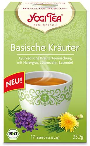 YOGI TEA Basische-Kräuter-Tee im Beutel (17 Beutel) - Bio