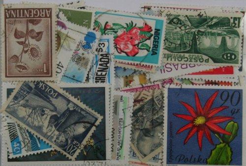 Dauwalders Lot de 50 timbres du monde