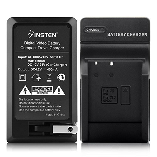Price comparison product image Insten Compact Battery Charger Set Compatible with Sony NP-BN1