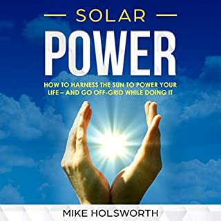 Solar Power audiobook cover art