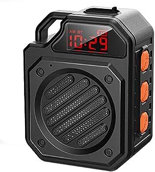 DUOTEN F025 Bluetooth Wireless IPX7 Waterproof Shower Speaker (Small)