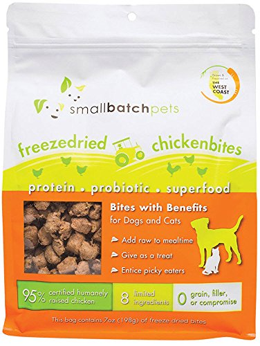 Small Batch Small Bites Freeze Dried Dog Food (Chicken, 7 oz.)