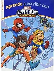 Aprendo a escribir con los superhéroes Marvel - Nivel 3 (Aprendo a escribir con Marvel)