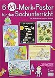 6 A1-Poster für den Sachunterricht – Deutschland,