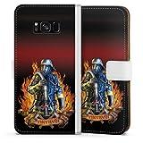 DeinDesign Klapphülle kompatibel mit Samsung Galaxy S8