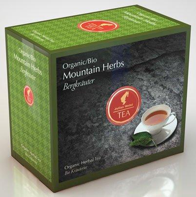 Julius Meinl BIO Bergkräuter Big Bag (1 Teebeutel für ca. 1 lt. Wasser), Bio Kräutertee - 20Beutel - 2x