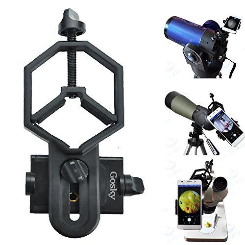 Grande formato universale adGrande formato universale adattatore telefonico e Mount Treppiedi supporto per oculare diametro 32mm - 62 mm – Fotocamera-Cannocchiale/telescopio/microscopio/Binocolo
