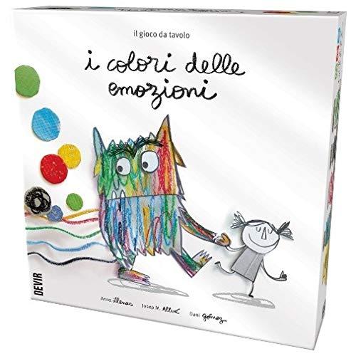 Devir I Colori delle Emozioni - Gioco da Tavolo in Italiano