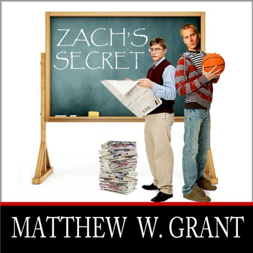 Zach's Secret audiobook cover art