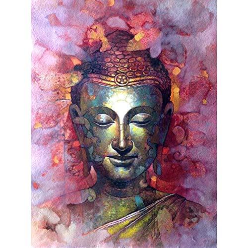 ATggqr Puzzle 1000 Pcs 50x75cm Buddha and flowers Challenge 1010 pcs Jigsaw Puzzle Challenge DIY Home Gift Choice