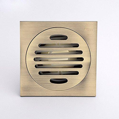 SDKKY pleine de cuivre sur les drains de plancher de type la désodorisation.la salle de bain douche toilettes minimaliste base,c