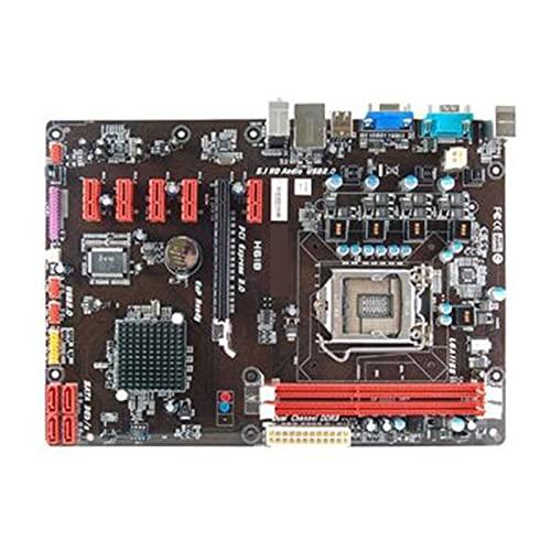 Fit for BIOSTAR Socket LGA 1155 TP61A H61 LGA1155 DDR3 6GPU 6PIC-E Placa Base de minería Placa Base de computadora