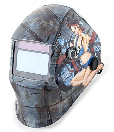 Shop Iron 45000 Solar Powered Auto Darkening Welding Helmet