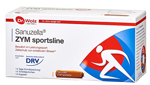 Sanuzella Zym Sportsline | Für Training und Wettkampf | 14-Tage-Kombipackung