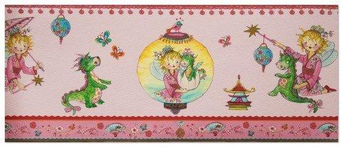 Villa Coppenrath Borte Kinderborte Vlies Prinzessin Lillifee 413304 rosa Borte Kinder
