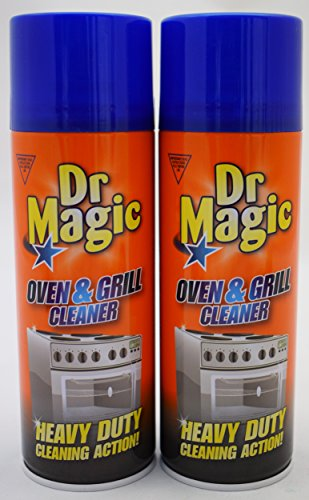 2 x Dr Magic Oven Grill & BBQ Cleaner Heavy Duty Action 2 X 390 ml !!