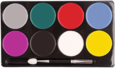 Sanwooden Let's Party DIY Make up Cosplay Clown Painting Palette Face Body Paint 8 Colors Halloween