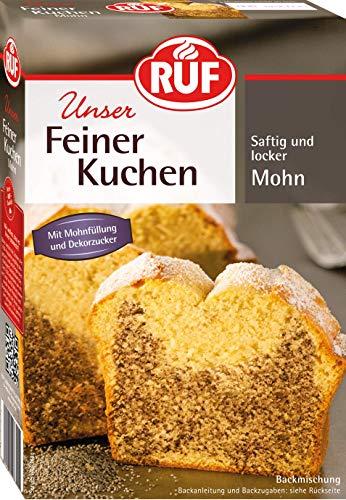 RUF Feiner Mohnkuchen mit Füllung und Puderzucker (1 x 465 g)