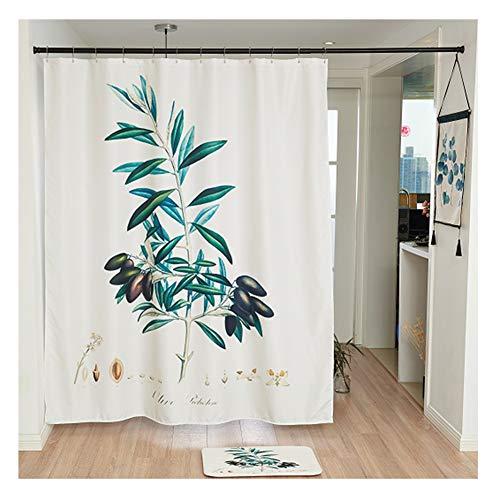 William 337 WYZ fris douchegordijn voor badkuip en douchecabine polyester badgordijnen Mold Mildew Gratis