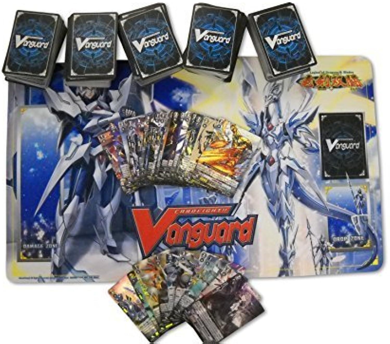 500CARDFIGHT VANGUARD Karten mit Spielteppich und rares