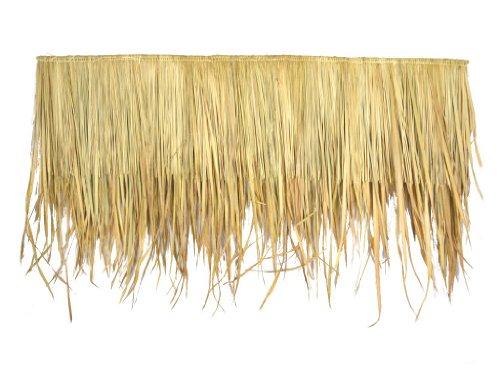 Seegrasdach 145 x 80 cm - Dachmatte aus Schilfgras - Natur Dachschindel als Wind und Sonnenschutz