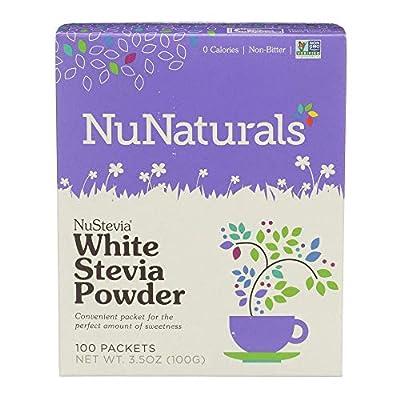 NuStevia White Stevia Powder 100 Packets from NuNaturals