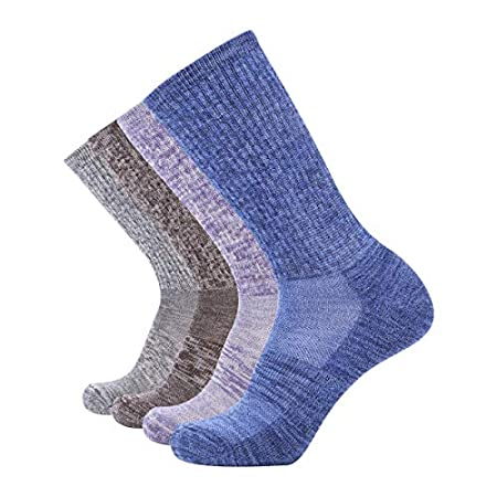 EnerWear 4 Pack Women's Merino Wool Socks