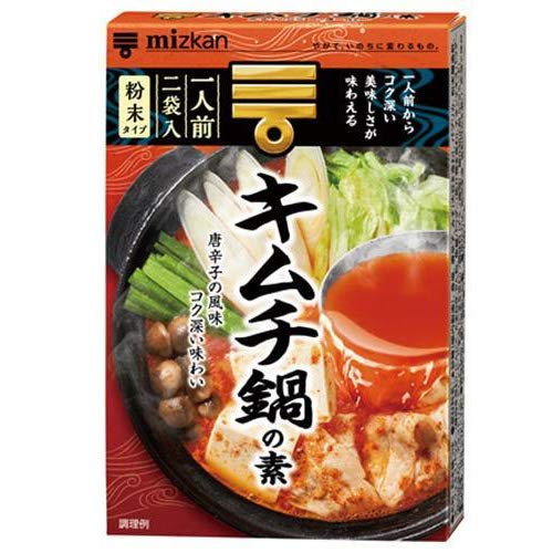 ミツカン キムチ鍋の素 38g×10箱入×(2ケース)