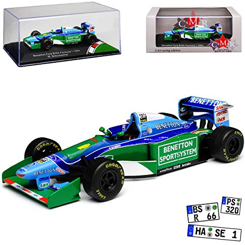 CMR Benetton Ford B194 Michael Schumacher Weltmeister 1994 Formel 1 1/43 Modell Auto