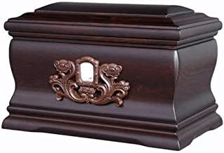 JCCOZ-URG Black Rosewood Personalized Keepsake Urns for Human Ashes Cremation Urns for Loved One Ashes Memorial Ashes Hold...