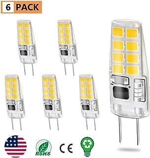 LOT OF 4 2 x 2 PACKS Feit 20w Xenon MR16 GU10 Light Bulbs bulb NIP NEW lights