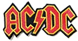 """4"""" X 2""""AC/DC ACDC Heavy Metal Rock Punk Music Band Logo Polo T shirt Patch Sew Iron on Embroidered Costum -"""