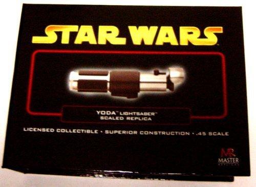Master Replicas Yoda Lightsaber Ep Iii (Mini) (accesorio de disfraz)