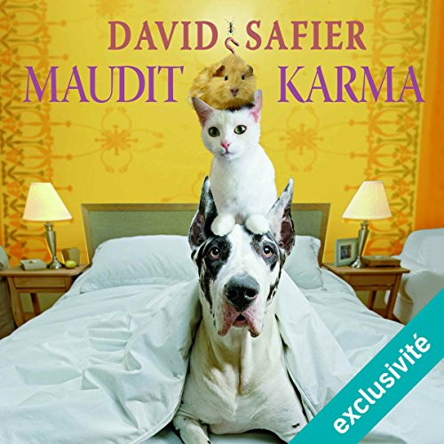 Maudit karma audiobook cover art
