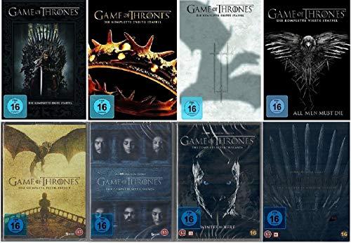 Game of Thrones Staffel 1-8 / Die komplette Serie / Staffel 1+2+3+4+5+6+7+8, 1 bis 8 [DVD Set]