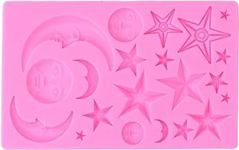 Molde para bolo, molde de silicone fácil de limpar para chocolate para padaria para casa(pink)