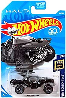 Hot Wheels 2018 HW Screen Time Halo Oni Warthog 54/365, Black
