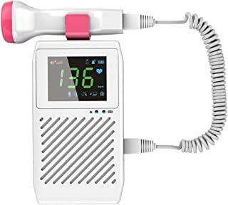9FMZZzi81E Mujeres Embarazadas en casa, Estetoscopio fetal sin radiación, pulsómetro fetal, frecuencia cardíaca