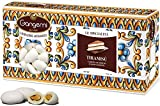 1 Kg Gangemi Confetti - Peladillas Grageas con Almendra - Clásica de la Boda Italiana - Sabor TIRAMISU' - Blanco (aprox. 180)