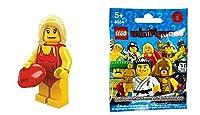 レゴ (LEGO) ミニフィギュア シリーズ2 ライフセーバー Life Guard (Minifigure Series2) 8684-8