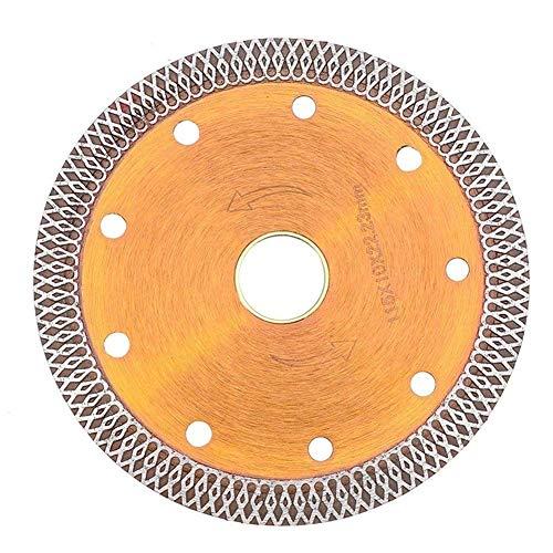 IREANJ 115mm Diamante Granito Cortador de Disco de Sierra de Hoja Delgada de Ruedas Revestimiento de Porcelana, cerámica Hojas de Sierra Circulares de Granito Cortador Diamante