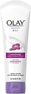 Olay Quench Soothing Orchid & Black Currant Body Lotion 8.4 Ounce