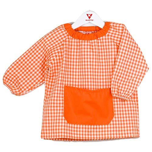 KLOTTZ - BABI PONCHO SIN BOTONES bebé-niños color: NARANJA talla: 2