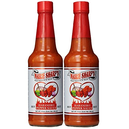 Marie Sharp#039s Hot Sauce 10 Fl Oz Pack of 2