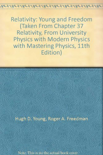 Relativity: Young and Freedom (Taken From Chapter 37